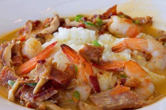 Chickamauga, Geórgia: Shrimp and Grits