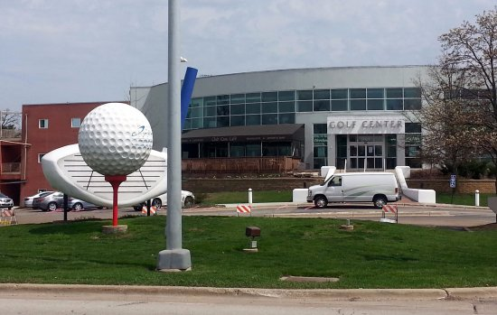 front of Golf Center