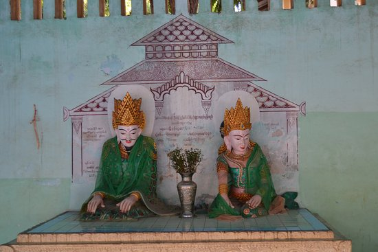 Manuha Temple: Los antiguos reyes de Pagan (Bagan) en Manuha