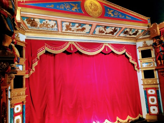 Biggar, UK: Inside the Puppet Theatre