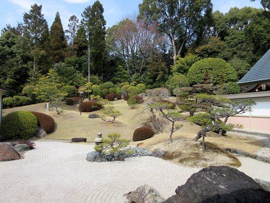 Nisshin, Japón: 白砂の庭園