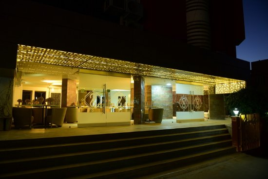 Siddharth Palace Hotel: Entrance