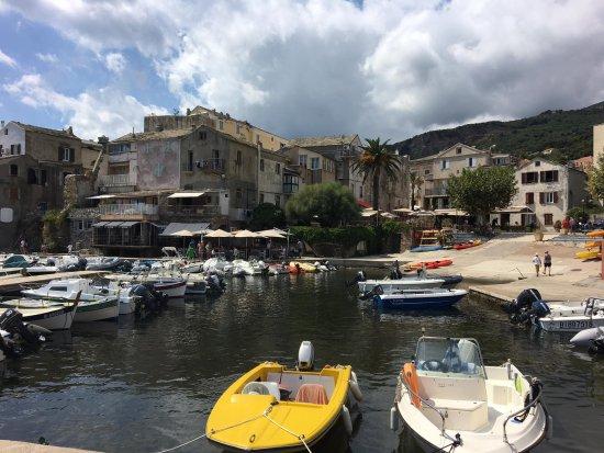 Hôtel Castel Brando: The waterfront area at Erbalunga