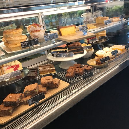 Hobsonville, New Zealand: Best cabinet food in addition to our awesome breakfast, lunch and dinner menu