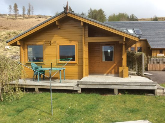 Dervaig, UK: Willow lodge. Two bedrooms. Perfect for a family