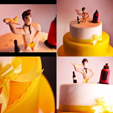 Pilot Themed Surprise Indian Birthday Cake Picture Of Joob Joob