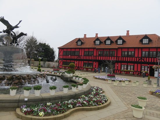Funabashi Andersen Park: 売店。デンマークに因んだ土産屋アンデルセン公園オリジナルグッズもある。
