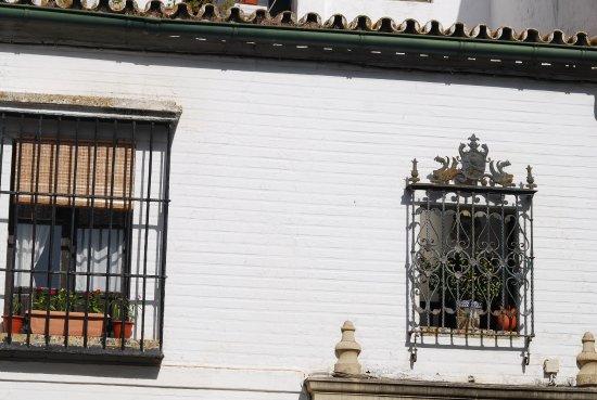 fenster mit gitter bild von barrio santa cruz sevilla tripadvisor. Black Bedroom Furniture Sets. Home Design Ideas