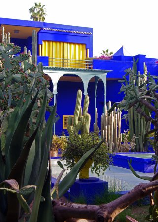 yves st laurent villa picture of jardin majorelle marrakech tripadvisor. Black Bedroom Furniture Sets. Home Design Ideas