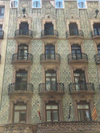Catalonia Ramblas: Entree van het hotel
