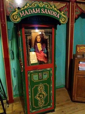 Wookey Hole Old Penny Pier Arcade: madam sandra
