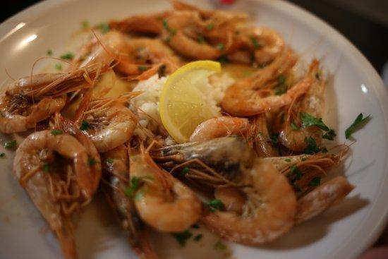 Sipan, Croacia: prawns