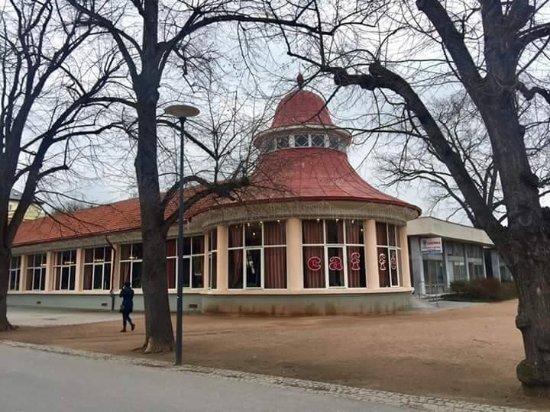 Podebrady, สาธารณรัฐเช็ก: krásné lázenské stavby