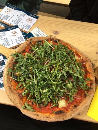 Vegan Pizza Picture Of Dough Pizzeria Delivery Edinburgh