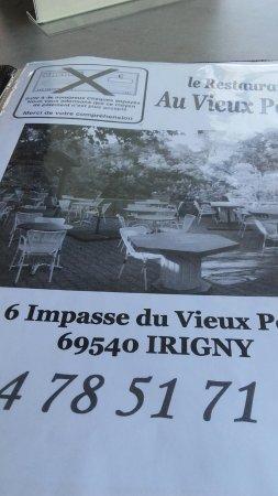 l adresse et tel picture of au vieux port irigny tripadvisor
