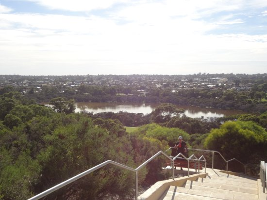Hamilton Hill, Australia: View from the top of stairs