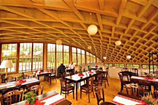 Neuhardenberg, Deutschland: Klosterschaenke interior at first floor
