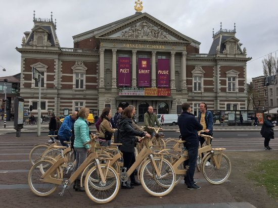 ‪wOOdy Amsterdam's wOOden Bike Tours‬
