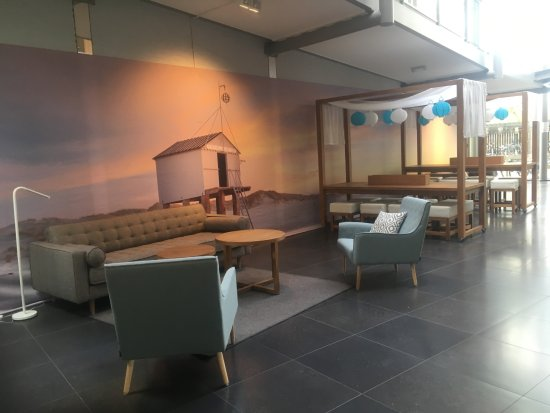 Midsland, The Netherlands: seating by cafe and reception