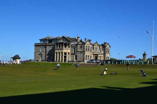 The Royal & Ancient Golf Club of St. Andrews: The Clubhouse
