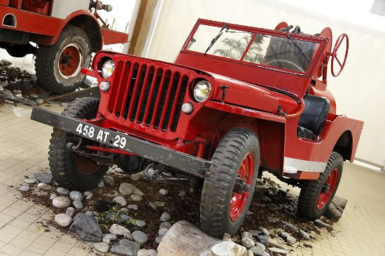 Plougastel Daoulas, Γαλλία: Jeep Ford de 1945 (Surplus américain)