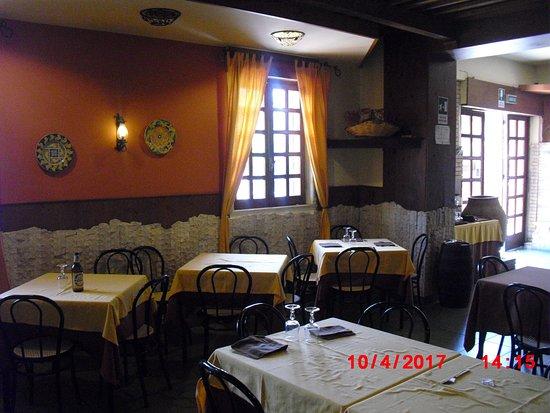 Torre Faro, Italien: Ambiente im Restaurante Nachmittag
