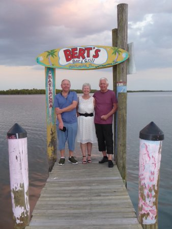 Matlacha, FL: After a evening meal at Berts