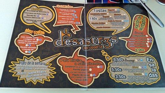 ريوت, إسبانيا: Carta desastr3s