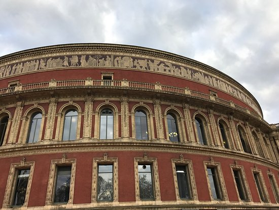 Picture of royal albert hall london for Door 9 royal albert hall