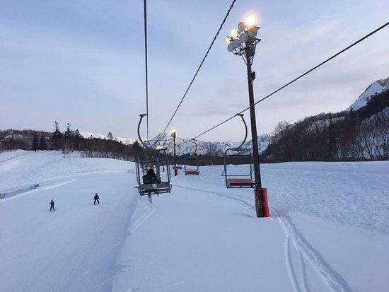 Kiroro Snow World : cable at Kiroro ski resort
