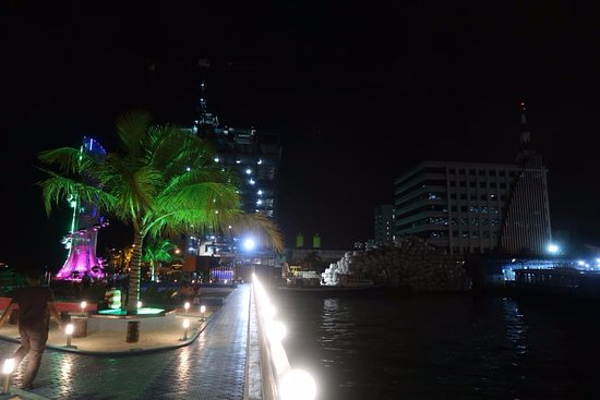 Tsunami Monument: The park