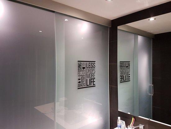 Porta scorrevole del bagno picture of andante hotel barcelona