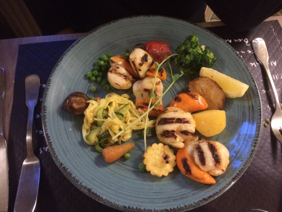 Hotel restaurant le Speranza : Coquille st Jacques
