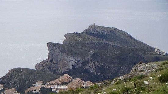 Teulada, Spanien: Uitzicht vana top