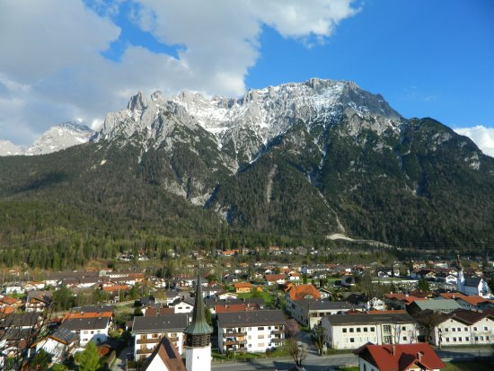 Pension Schwalbennestl: View from room number 2