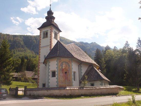 Bohinjsko Jezero, Slovenia: Outside view
