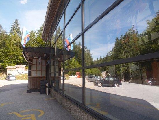 Bohinjsko Jezero, Slovenia: lift station entrance