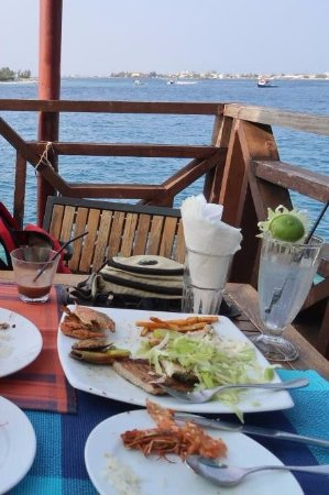 The Sea House - Maldives: My meal
