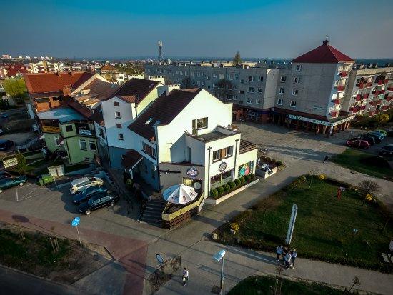 Konin, โปแลนด์: Bar z lotu ptaka