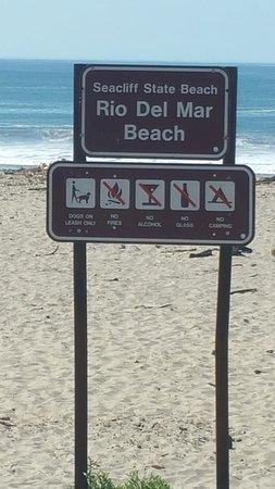 Aptos, CA: Rio Del Mar Beach, Massage Harbor