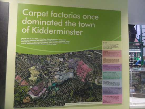Kidderminster, UK: about