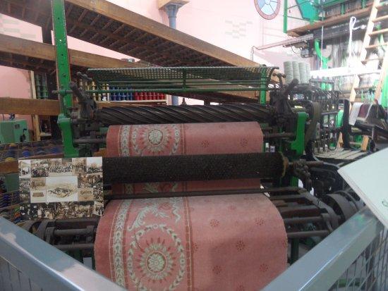 Киддерминстер, UK: small machine