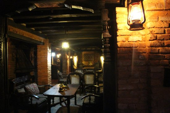 Dining at the Old Inn