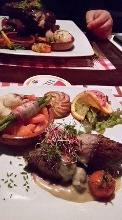 Leusden, Belanda: Vleesgerechten, visgerechten en vegetarische gerechten