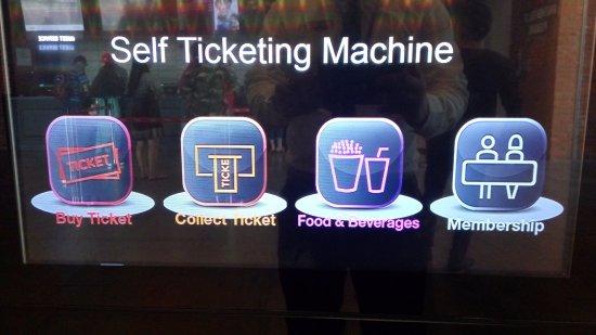 Self Ticketing Machine Picture Of Cgv Cinema Social Market