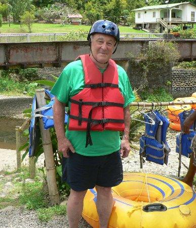 Adventure Tours Grenada - Caribbean : Life vest and helmet are a necessity