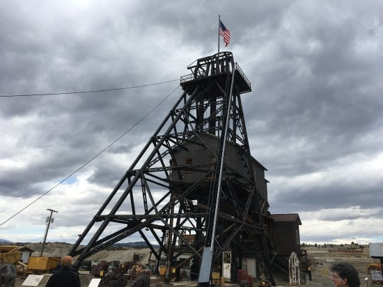 Butte, MT: Headframe - Orphan Girl Mine