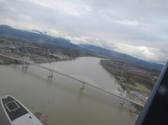 Pitt Meadows, Canadá: View from a Plane