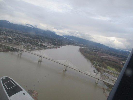 Pitt Meadows, Kanada: View from a Plane