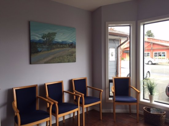Courtenay, Canada: Beautiful waiting room